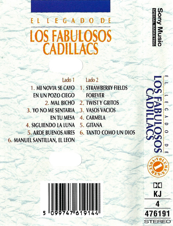Los Fabulosos Cadillacs - El Legado De Los Fabulosos Cadillacs (Volumen 1) CASSETTE