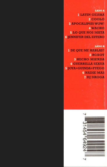 Illya Kuryaki & The Valderramas - Leche CASSETTE