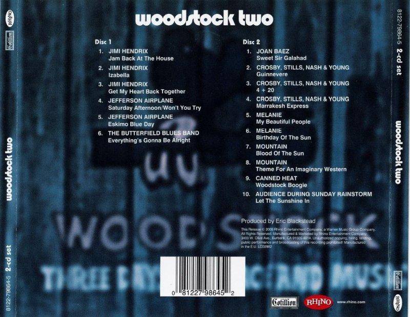 Varios - Woodstock Two 2CD