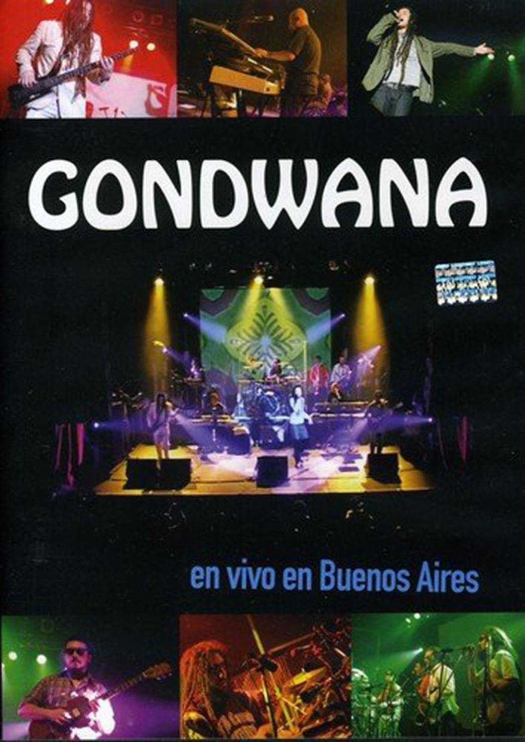 Gondwana - En Vivo En Buenos Aires DVD