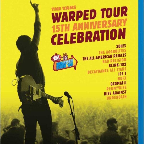 Varios - 15th Anniversary Celebration: Vans 15 Warped Tour '09 BLURAY