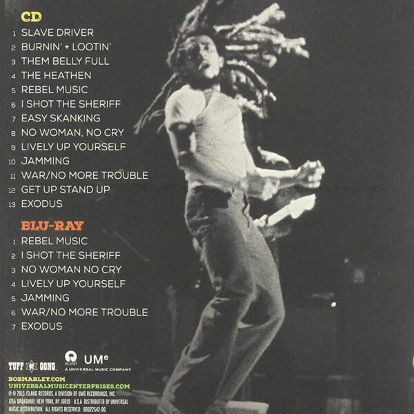 Bob Marley & The Wailers - Easy Skanking In Boston '78 CD+DVD