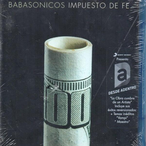 Babasonicos - Impuesto de Fe (Desde Adentro) 1BLURAY+1CD