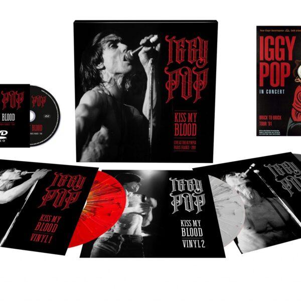 Iggy Pop - Kiss My Blood (Live At The Olympia - Paris France - 1991 BOXSET