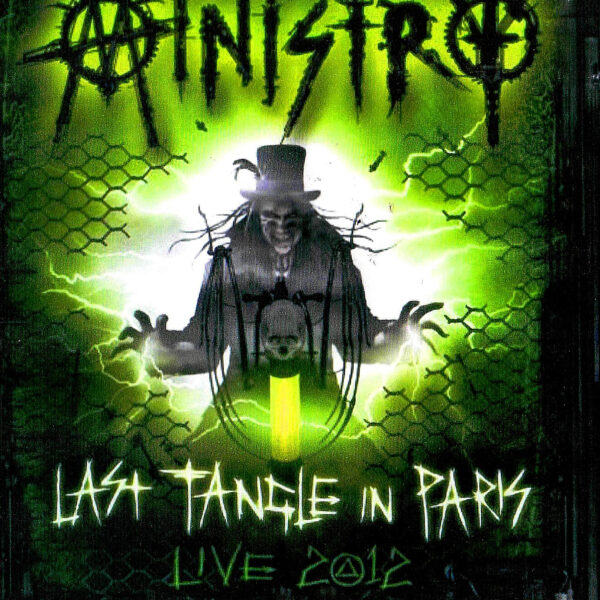 Ministry - Last Tangle In Paris Live 2012 2CDs+1BLURAY