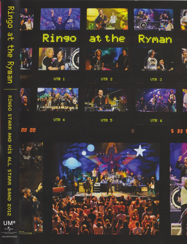 Ringo Starr And His All-Starr Band - Ringo At The Ryman DVD
