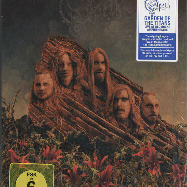 Opeth - Garden Of The Titans (Opeth Live At Red Rocks Amphitheatre) 1BLURAY+2CDs