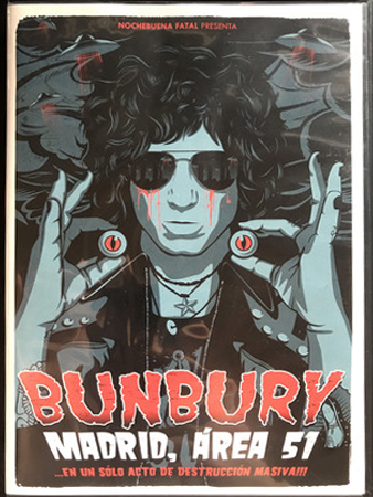 Enrique Bunbury - Madrid, Área 51 (...En Un Sólo Acto De Destrucción Masiva!!!) BLURAY
