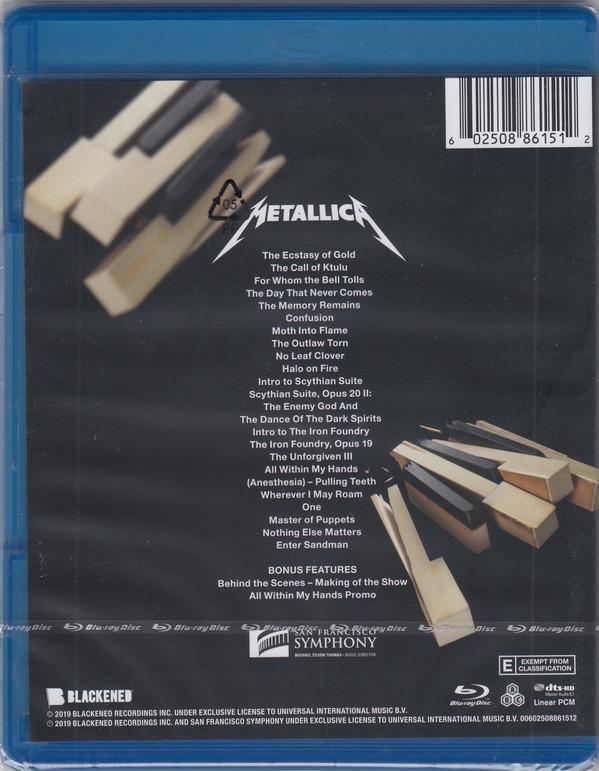 Metallica And San Francisco Symphony - S&M2 BLURAY