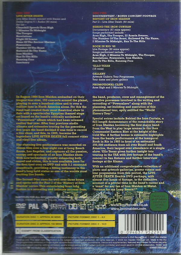 Iron Maiden - Live After Death 2DVD