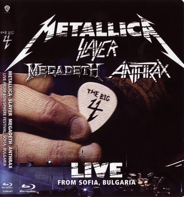 Metallica, Slayer, Megadeth, Anthrax - The Big 4: Metallica Slayer Megadeth Anthrax: Live From Sonisphere Festival, Sofia, Bulgaria 2BLURAYS