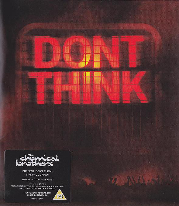 The Chemical Brothers - Don't Think 1BLURAY+1CD