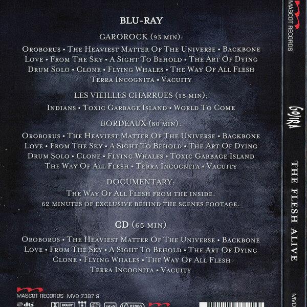 Gojira - The Flesh Alive 1BLURAY+1CD