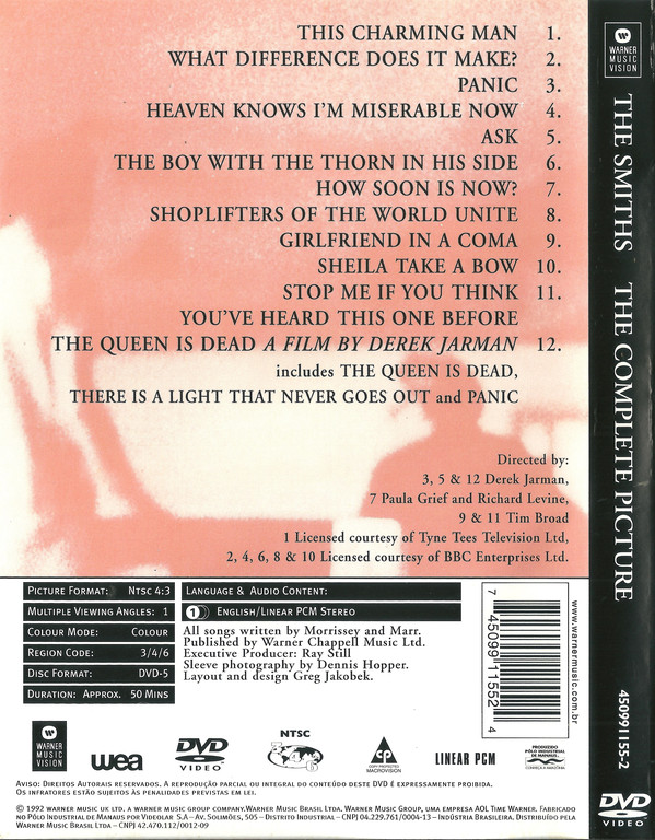 The Smiths - The Complete Picture DVD