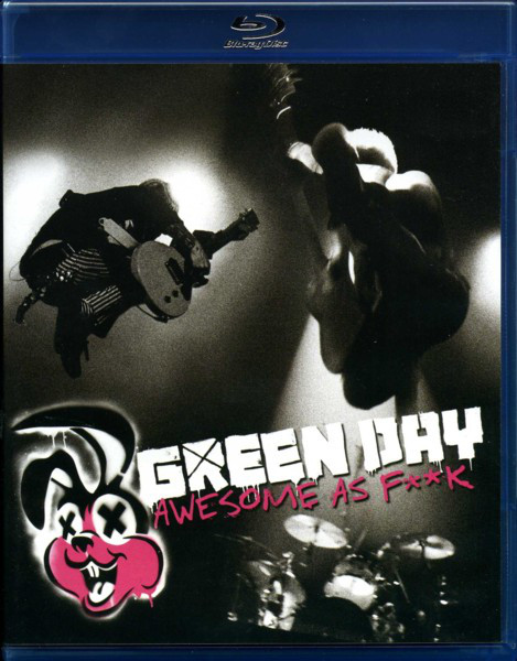 Green Day - Awesome As F**k 1CD+1BLURAY