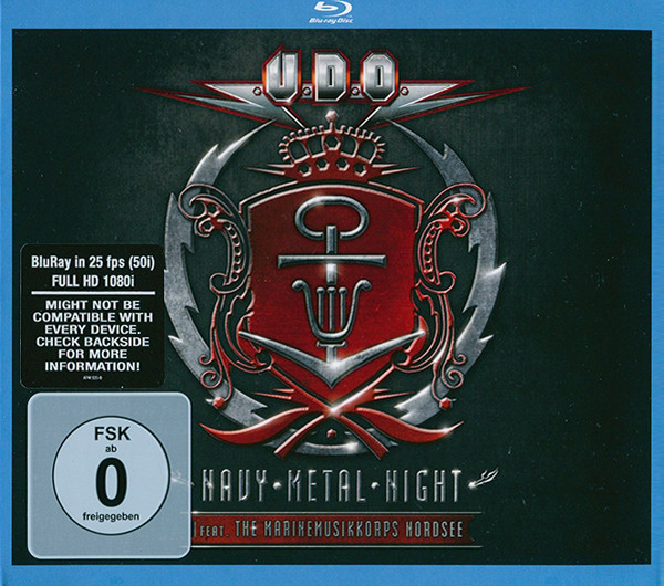 U.D.O. Feat. The Marinemusikkorps Nordsee – Navy Metal Night 2CDs+1BLURAY