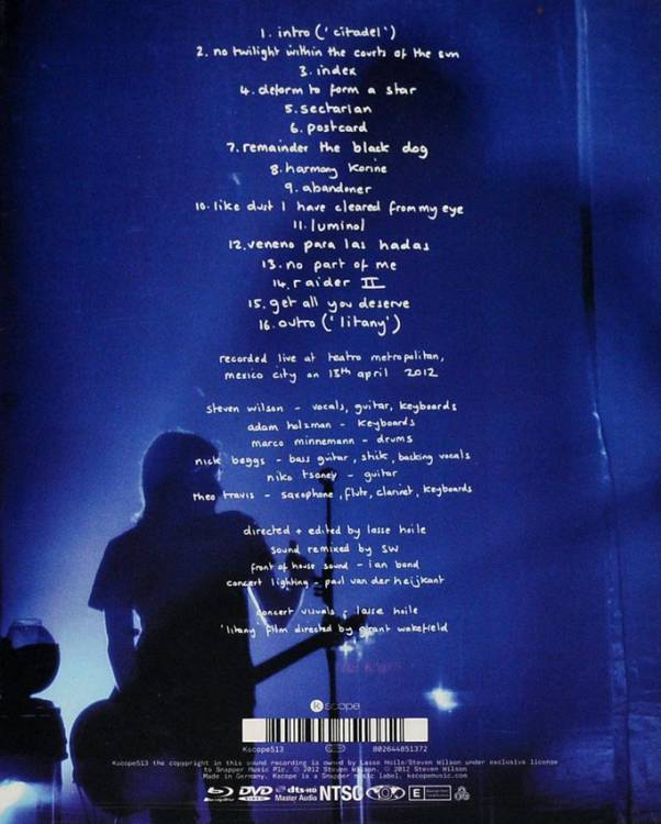 Steven Wilson - Get All You Deserve BLURAY