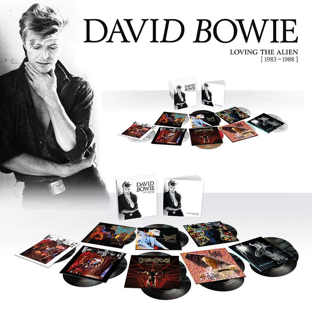 David Bowie - Loving The Alien [ 1983–1988 ] BOXSET