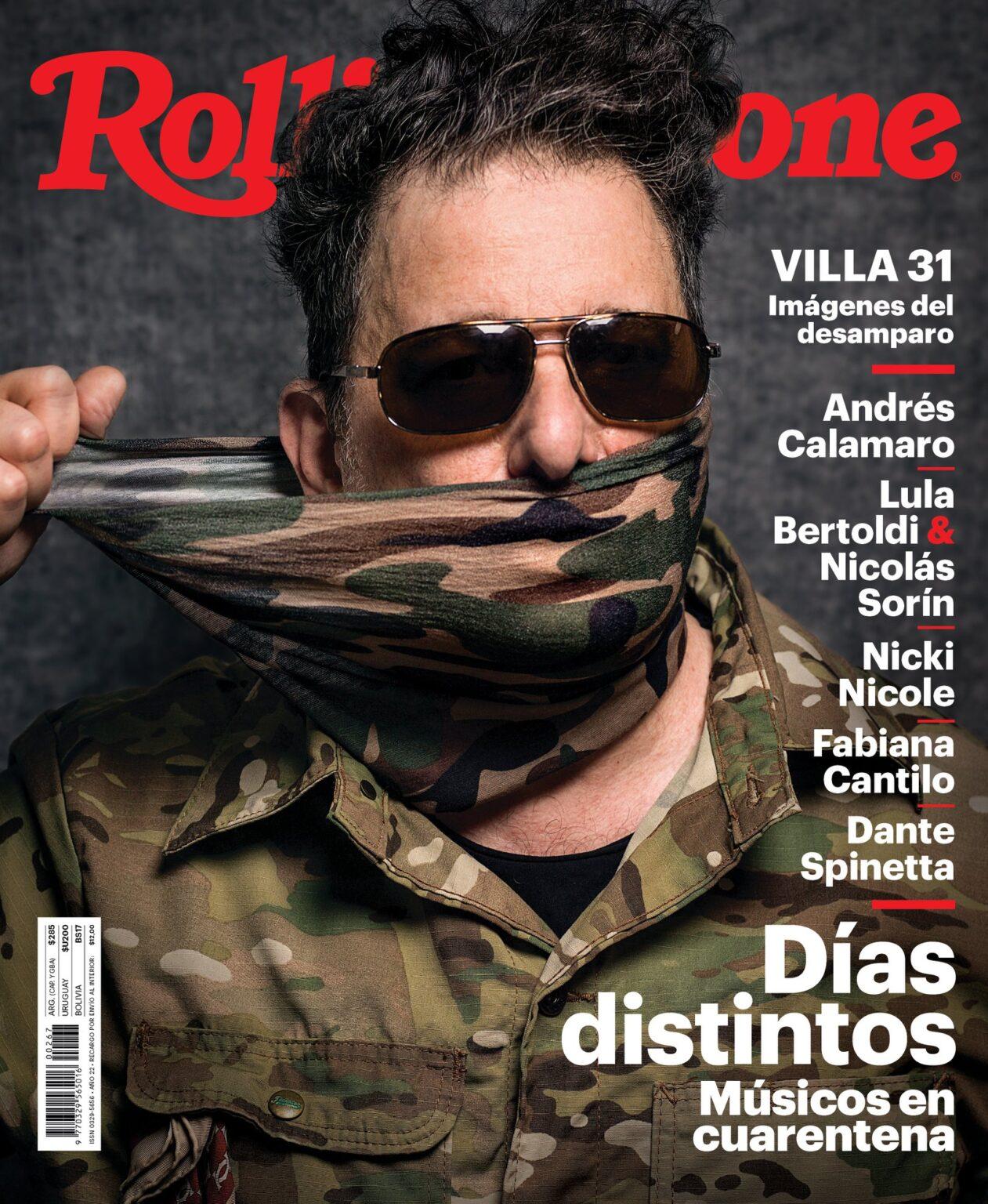 Revista Músicos en Cuarentena Rolling Stone