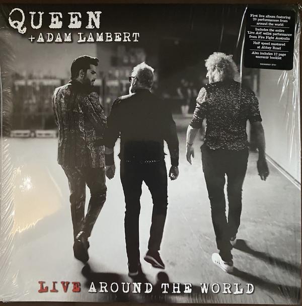 Queen + Adam Lambert - Live Around The World 2LPs