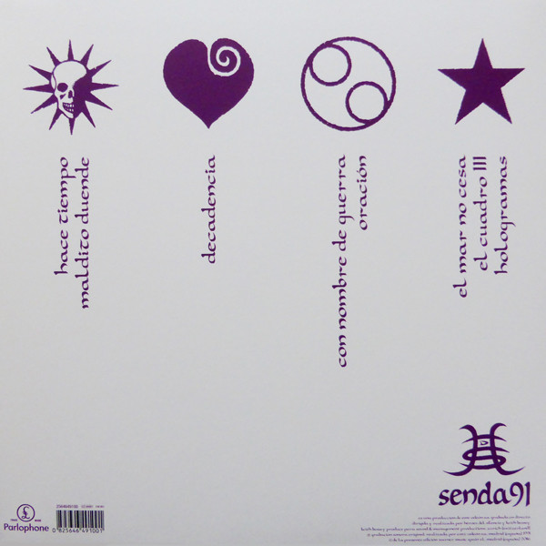 Héroes Del Silencio - Senda 91 2LPs+1CD