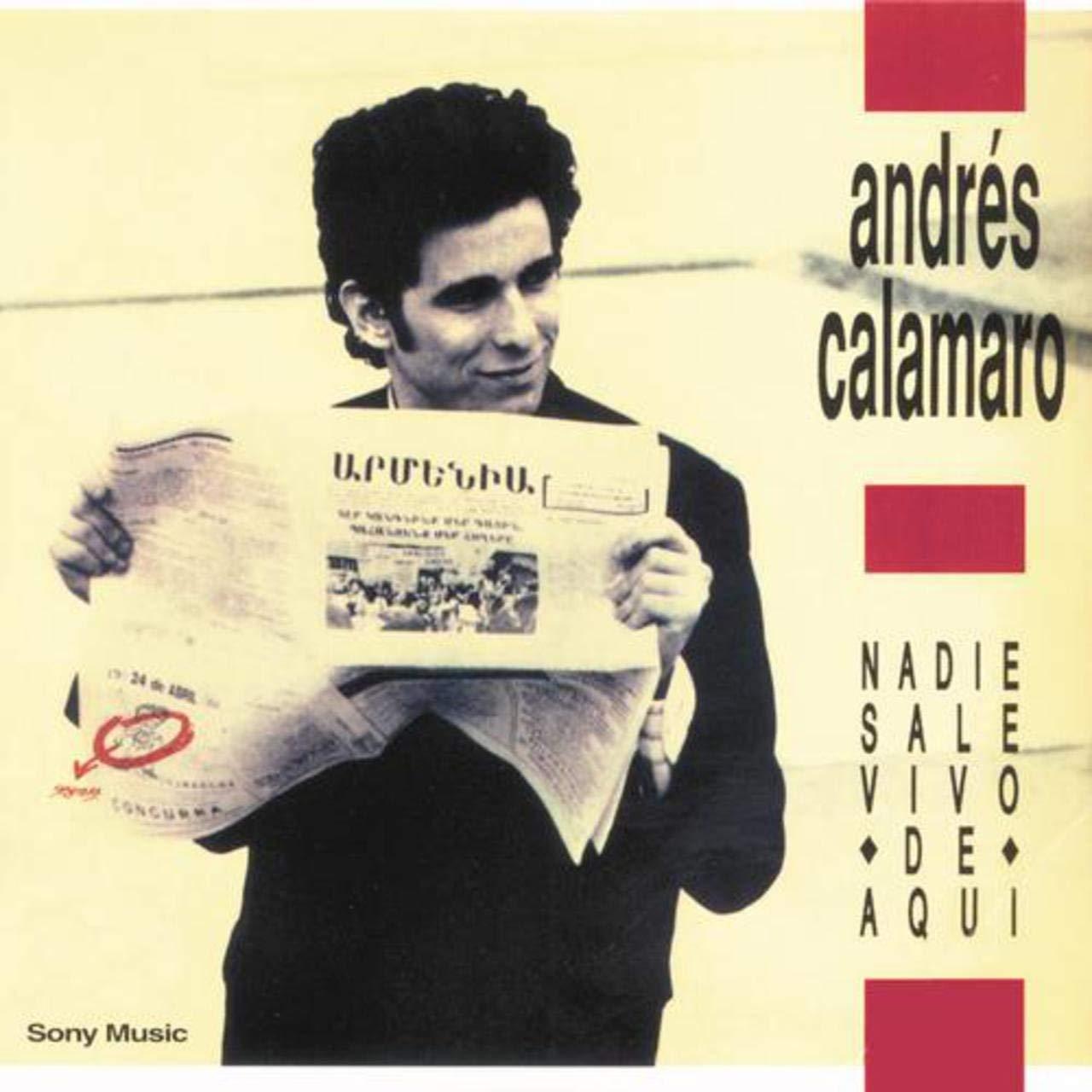 Andrés Calamaro - Nadie Sale Vivo De Aqui LP