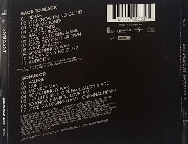 Amy Winehouse - Back To Black 2CDs