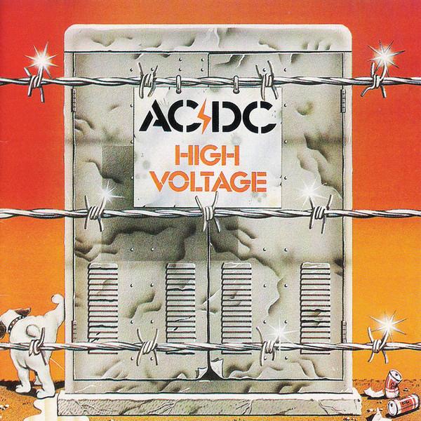 AC/DC - High Voltage LP GOLD - Bootleg