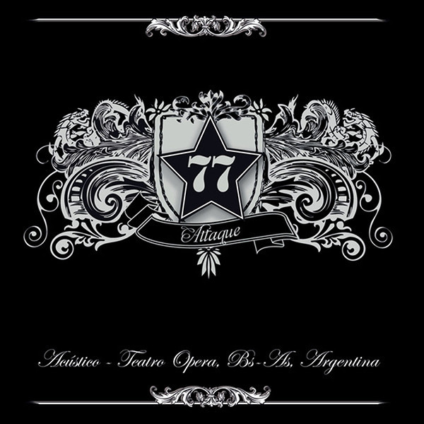 Attaque 77 - Acustico - Teatro Opera - Bs. As. - Argentina CD