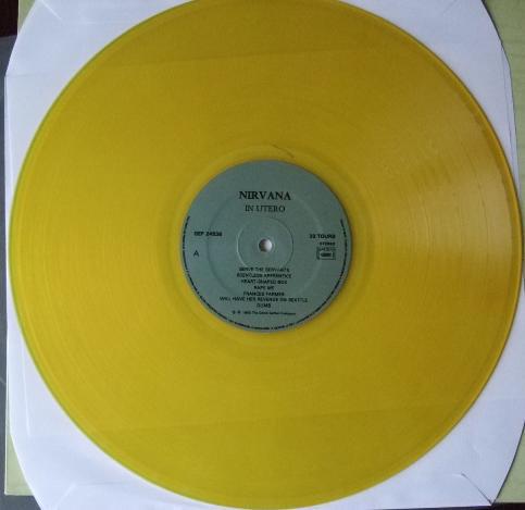 Nirvana - In Utero LP YELLOW - Bootleg