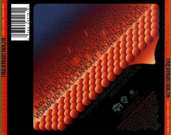 The Mars Volta - Noctourniquet CD