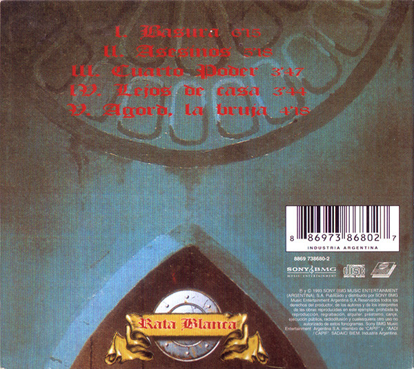 Rata Blanca - El Libro Oculto CD