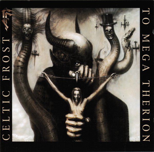 Celtic Frost - To Mega Therion CD
