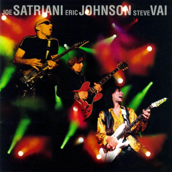 Joe Satriani / Eric Johnson (2) / Steve Vai - G3 Live In Concert CD