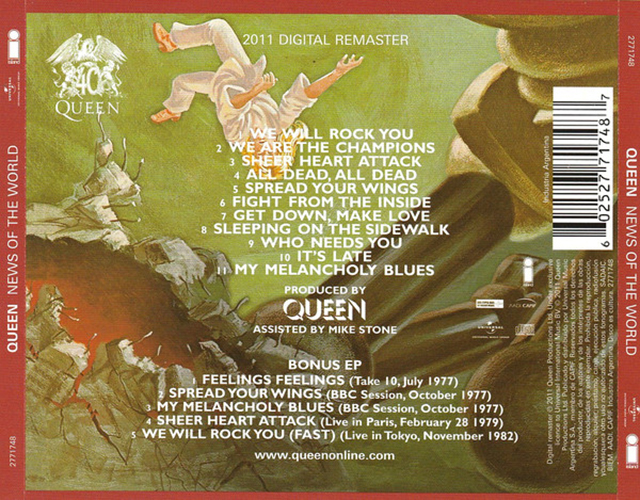 Queen - News Of The World 2CDs