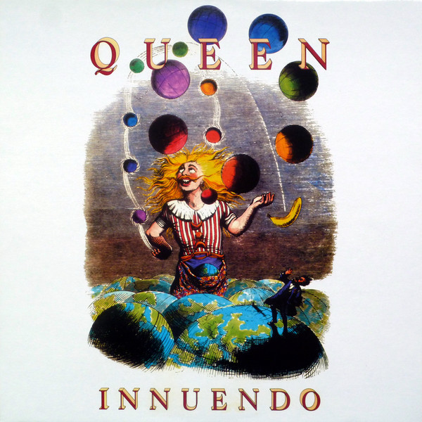 Queen - Innuendo LP RED - Bootleg