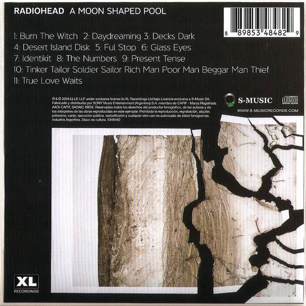 Radiohead – A Moon Shaped Pool CD