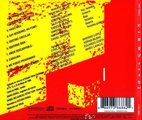 Virus - Vivo 2 CD