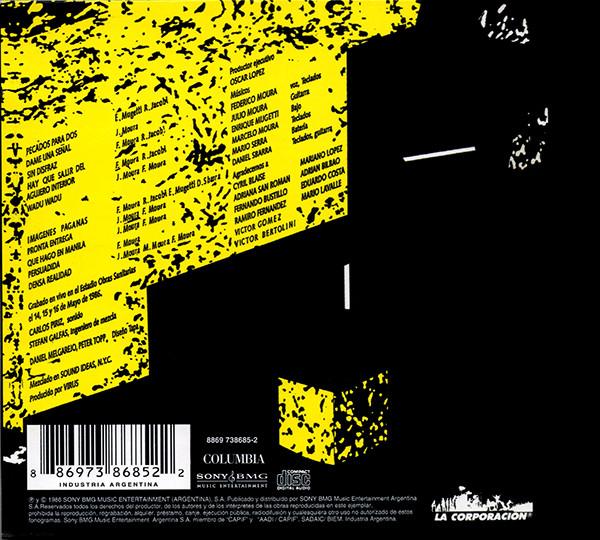 Virus - Vivo CD
