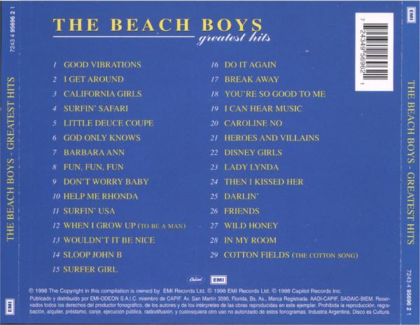 The Beach Boys - Greatest Hits CD