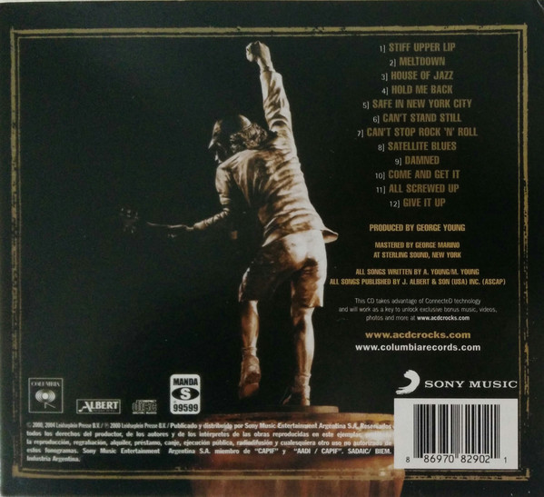 AC/DC - Stiff Upper Lip CD