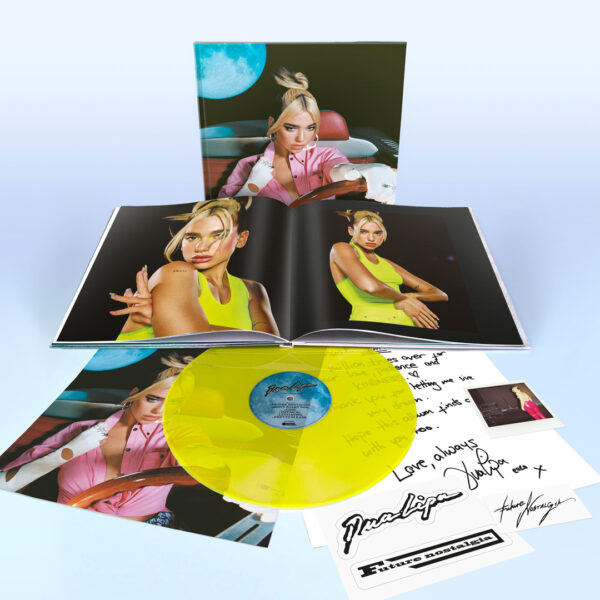 Dua Lipa - Future Nostalgia SPECIAL EDITION Yellow Neon