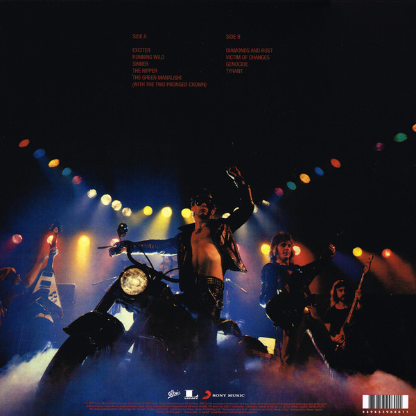Judas Priest - Unleashed In The East (Live In Japan) LP