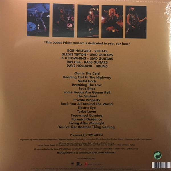 Judas Priest - Priest...Live 2LPs
