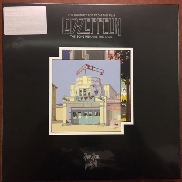 Led Zeppelin - The Soundtrack From The Film Led Zeppelin The Song Remains The Same 4 LPs BOXSET