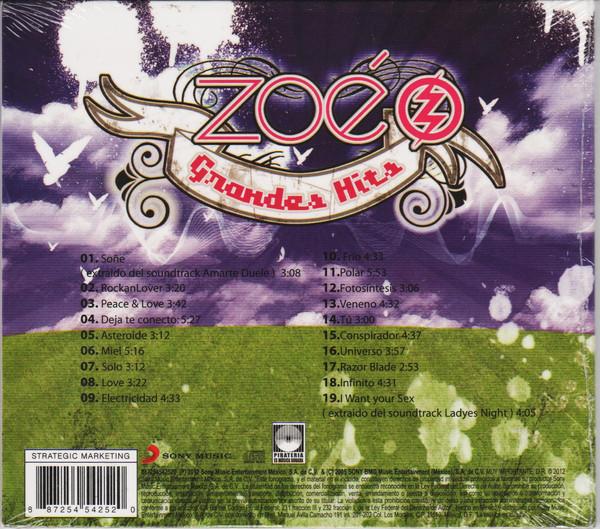 Zoé - Grandes Hits CD