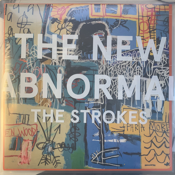 The Strokes – The New Abnormal LP colour red.