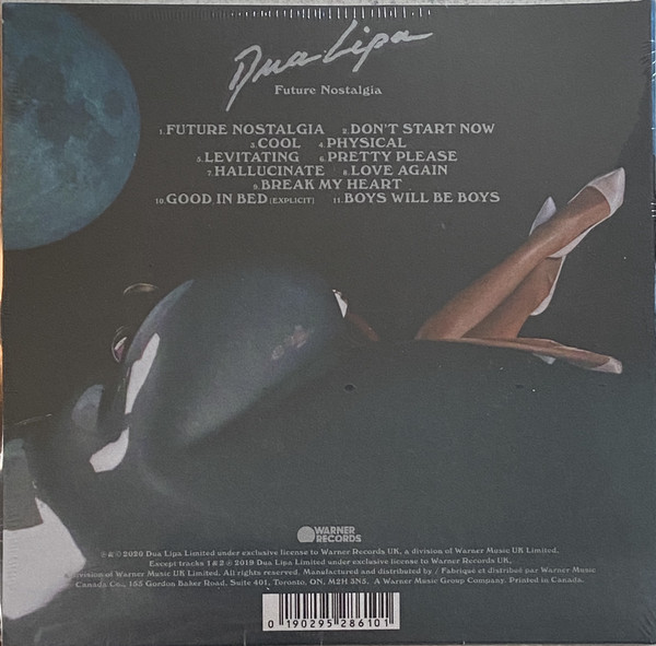 Dua Lipa – Future Nostalgia CD