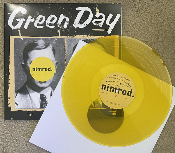 Green Day - Nimrod. LP Yellow Transparent