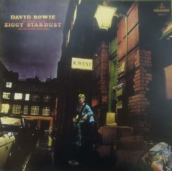 David Bowie – The Rise And Fall Of Ziggy Stardust And The Spiders From Mars LP+LIBRO